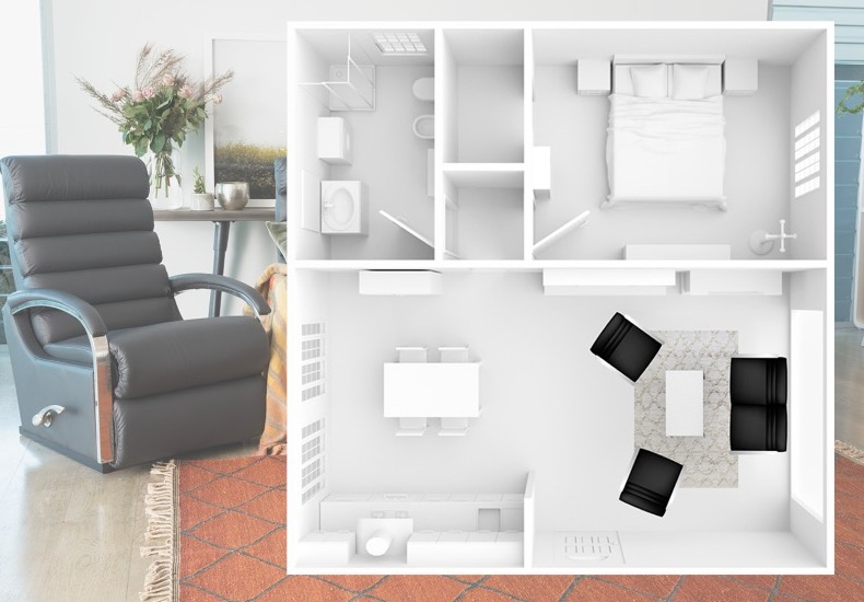 3 suites for small spaces  (including floorplans)